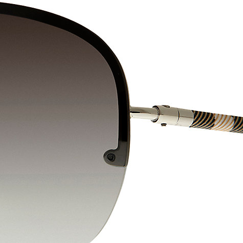 Buy Burberry Prorsum BE3063 Metallic Sunglasses Online at johnlewis.com