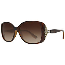 Buy Bvlgari BV8113B Square Sunglasses, Havana Online at johnlewis.com