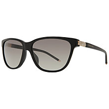 Buy Bvlgari BV8115B Square Sunglasses, Black Online at johnlewis.com