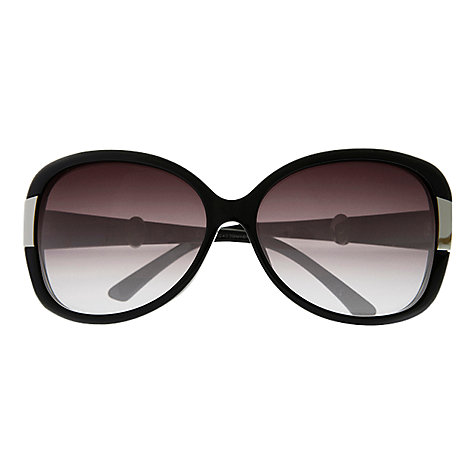 Buy Christian Dior Midnight Diamanté Sunglasses, Black Online at johnlewis.com