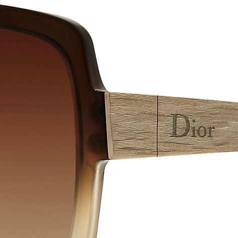 Buy Christian Dior Dior Soie Oversized Sunglasses Online at johnlewis.com