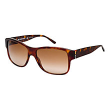 Buy Burberry BE4136 Square Framed Sunglasses, Havana Online at johnlewis.com