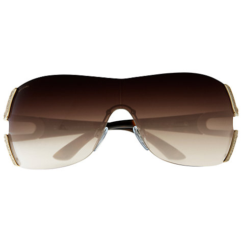 Buy Bvlgari BV6038B Parentesi Sunglasses, Light Gold Online at johnlewis.com