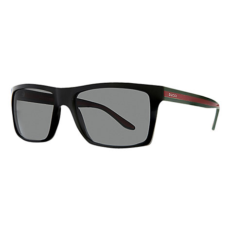 Buy Gucci GG1013/S Square Plastic Frame Sunglasses Online at johnlewis.com