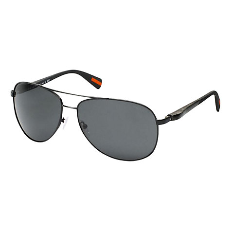 Buy Prada PS510S Lifestyle Aviator Sunglasses Online at johnlewis.com