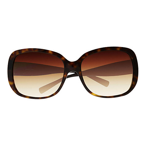 Buy Dolce & Gabbana DG4115 Oversized Square Sunglasses, Havana Online at johnlewis.com
