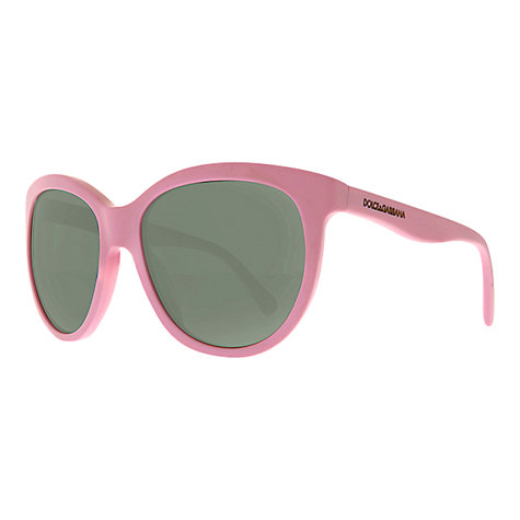 Buy Dolce & Gabbana DG4149 Matt Silk Sunglasses Online at johnlewis.com