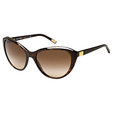 Buy Dolce & Gabbana DG4141 Cats Eye Sunglasses, Brown Online at johnlewis.com