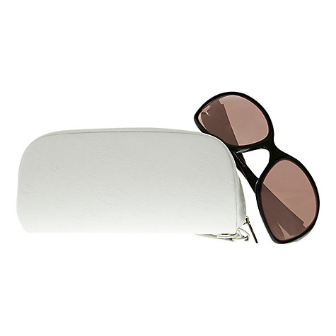 Buy Oakley OO9159 Drizzle Square Sunglasses, Polished Gold Online at johnlewis.com