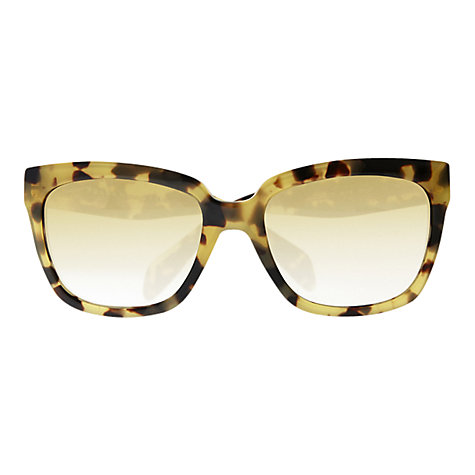 Buy Prada PR05PS Classic Logo Square Sunglasses, Havana Online at johnlewis.com