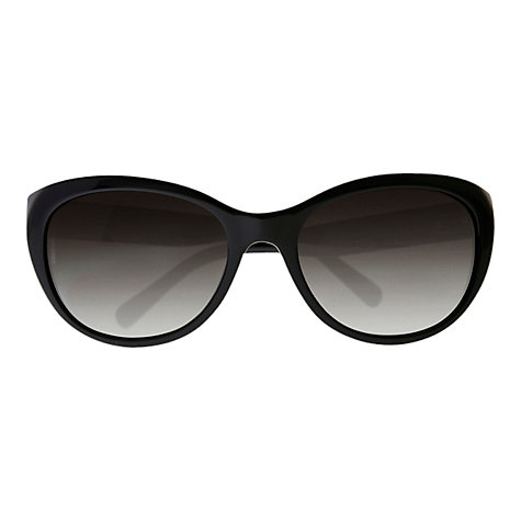 Buy Dolce & Gabbana DG4160 Gold Rose Cat's Eye Sunglasses, Black Online at johnlewis.com