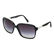 Buy Dolce & Gabbana DG4172 Square Sunglasses, Black Online at johnlewis.com