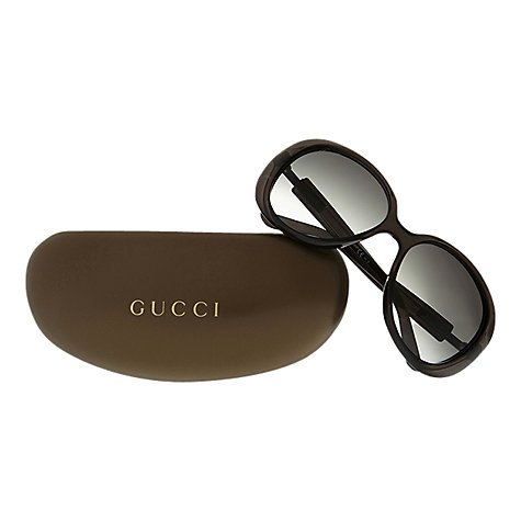 Buy Gucci GG3534/S Round Sunglasses Online at johnlewis.com