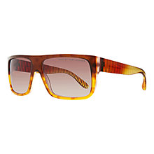 Buy Marc by Marc Jacobs 096/N/S Square Transparent Acetate Sunglasses Online at johnlewis.com