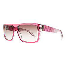 Buy Marc by Marc Jacobs 096/N/S Square Transparent Sunglasses Online at johnlewis.com