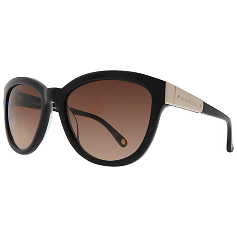 Buy Michael Kors MKS292 Sasha Sunglasses, Black Online at johnlewis.com