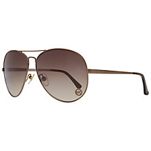 Buy Michael Kors M2058S Lola Aviator Sunglasses Online at johnlewis.com
