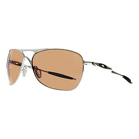 Buy Oakley OO4060 Cross Hair Square Sunglasses, Chrome Online at johnlewis.com
