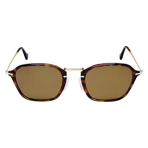 Buy Persol PO3047S Reflex Square Sunglasses Online at johnlewis.com