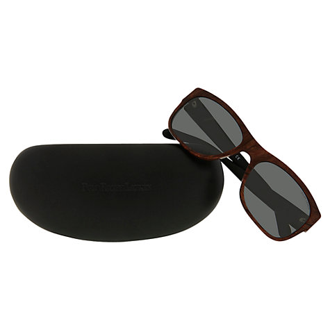 Buy Polo Ralph Lauren PH4072 Wood Effect Framed Sunglasses, Vintage Brown Online at johnlewis.com