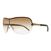 Buy Ralph Lauren RA4075 Round Sunglasses, Gold Online at johnlewis.com