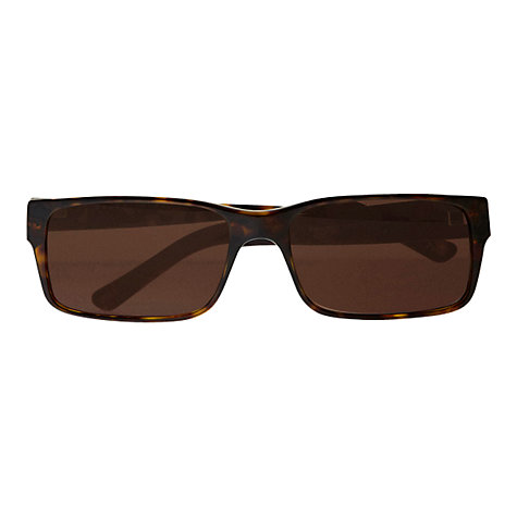 Buy Polo Ralph Lauren PH4049 Pony Player Rectangular Sunglasses, Havana Online at johnlewis.com
