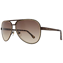 Buy Michael Kors M2060S Peyton Aviator Sunglasses Online at johnlewis.com