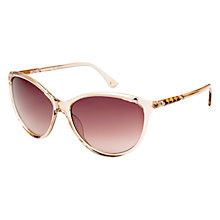 Buy Michael Kors M2835S Camila Sunglasses, Clear/Tan Online at johnlewis.com