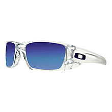Buy Oakley OO9096 OIH Fuel Cell Rectangular Sunglasses, Clear Online at johnlewis.com