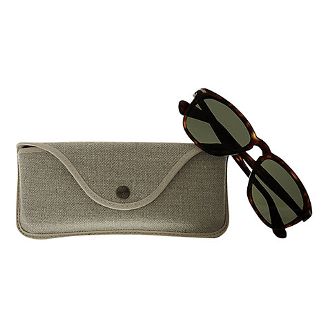 Buy Persol PO3024S Capri Rectangular Sunglasses, Havana Online at johnlewis.com