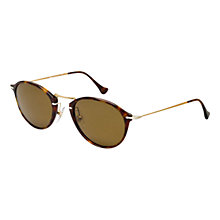 Buy Persol PO3046S Reflex Cat's Eye Sunglasses, Havana Online at johnlewis.com
