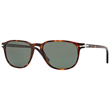 Buy Persol PO3019S Capri Square Sunglasses, Havana Online at johnlewis.com