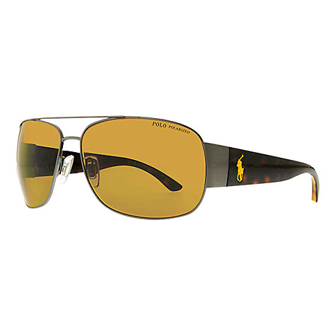 Buy Polo Ralph Lauren PH306 Big Pony Player Sunglasses Online at johnlewis.com