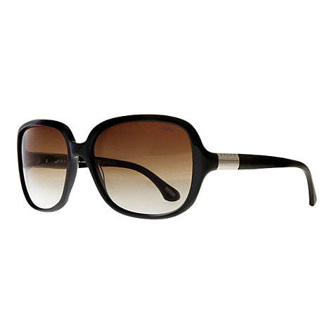 Buy Ralph by Ralph Lauren RA5149 Large Square Sunglasses, Black Online at johnlewis.com