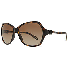 Buy Ralph Lauren RA5164 501/11 Oversized Sunglasses, Tortoiseshell Online at johnlewis.com