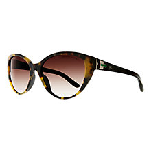 Buy Ralph Lauren RL8098 Sunglasses, Black / Havana Online at johnlewis.com