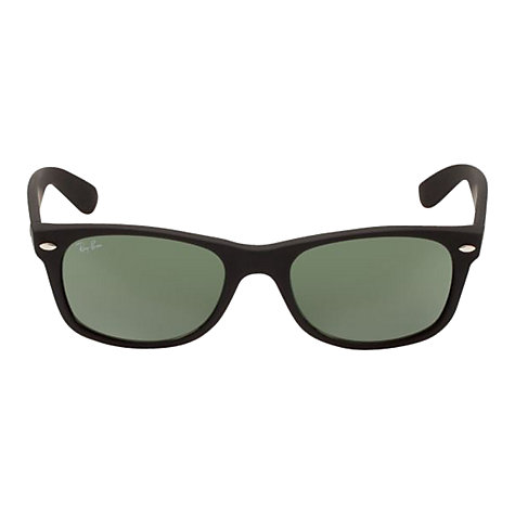 Buy Ray-Ban RB2132 New Wayfarer  Sunglasses, Black Online at johnlewis.com