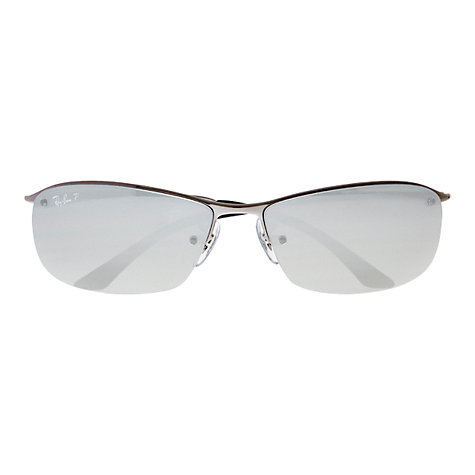 Buy Ray-Ban RB3183 Top Bar Lifestyle Rectangular Sunglasses Online at johnlewis.com