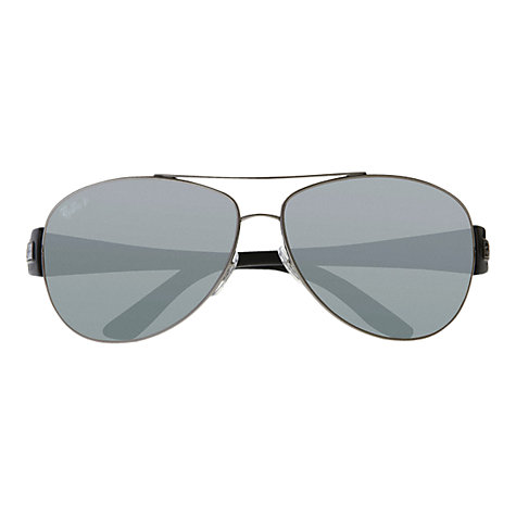 Buy Ray-Ban RB3467 Active Aviator Polarised Sunglasses Online at johnlewis.com