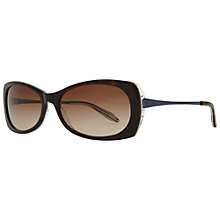Buy Ralph by Ralph Lauren RA5158 Rectangular Frame Sunglasses, Tortoise/Blue Online at johnlewis.com
