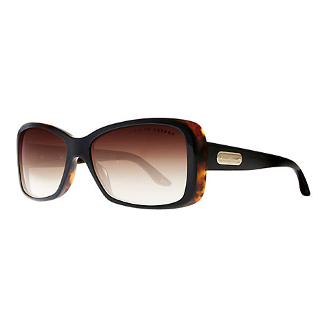 Buy Ralph Lauren RL8066 Rectangular Arm Plaque Sunglasses Online at johnlewis.com