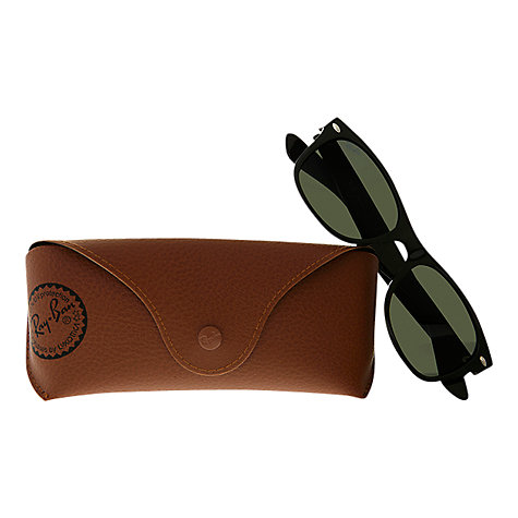 Buy Ray-Ban RB2132 New Wayfarer Oval Sunglasses Online at johnlewis.com