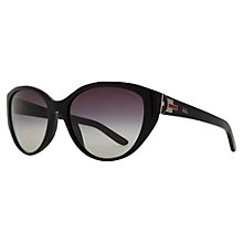 Buy Ralph Lauren RL8098 Cat's Eye Sunglasses, Black Online at johnlewis.com