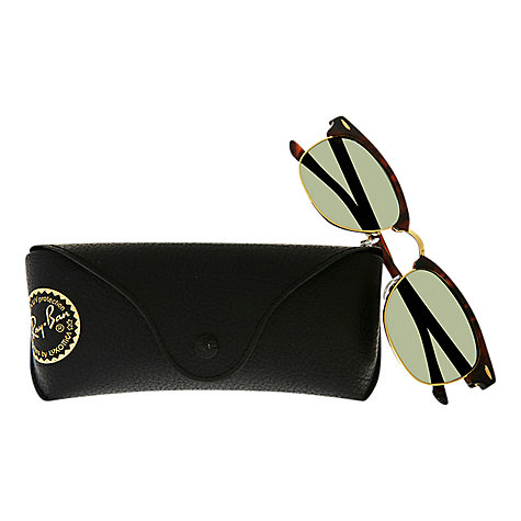 Buy Ray-Ban RB3016 Classic Clubmaster Oval Sunglasses Online at johnlewis.com