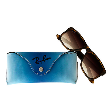 Buy Ray-Ban RB4165 Justin Rectangular Sunglasses Online at johnlewis.com