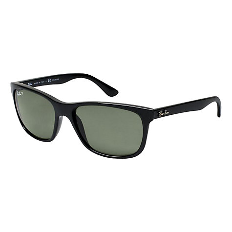 Buy Ray-Ban RB4181 Classic Sunglasses, Black Online at johnlewis.com