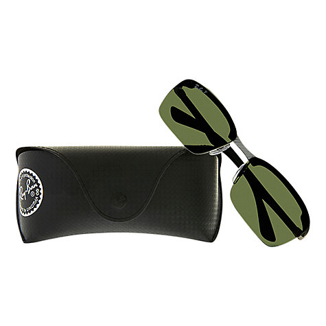Buy Ray-Ban RB8312 Carbon Fibre Semi-Rimless Tech Sunglasses Online at johnlewis.com