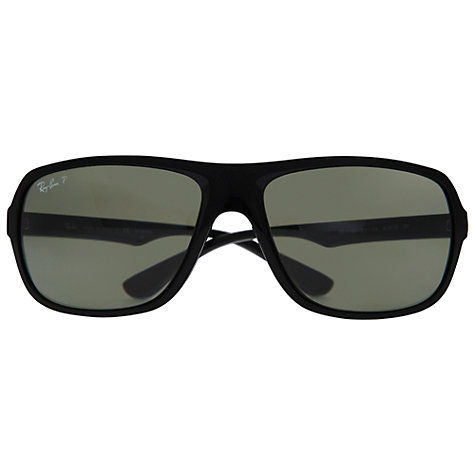 Buy Ray-Ban RB4192 Square Acetate Polarised Sunglasses Online at johnlewis.com