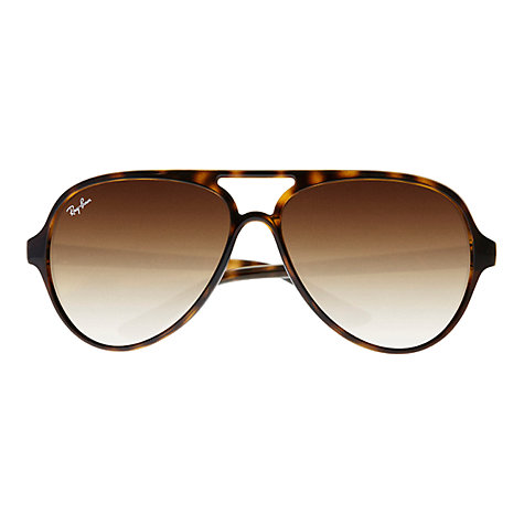 Buy Ray-Ban RB4125 Cat Aviator Sunglasses Online at johnlewis.com