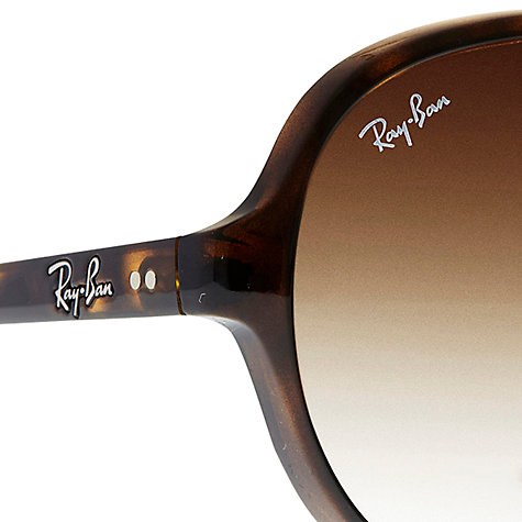 Buy Ray-Ban RB4125 Oversized Aviator Sunglasses Online at johnlewis.com